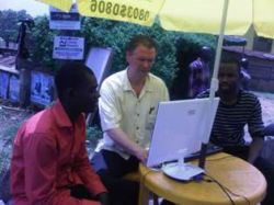 Testing under high temperature and humidity in Nigeria.